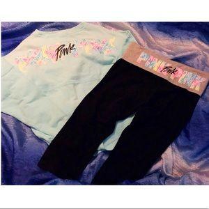 Victoria's Secret PINK Large Rare Set outfit
